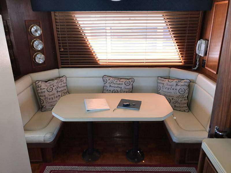 Dinette In The Galley