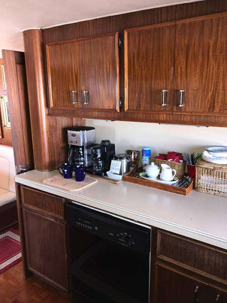 Dishwasher and Coffee Bar