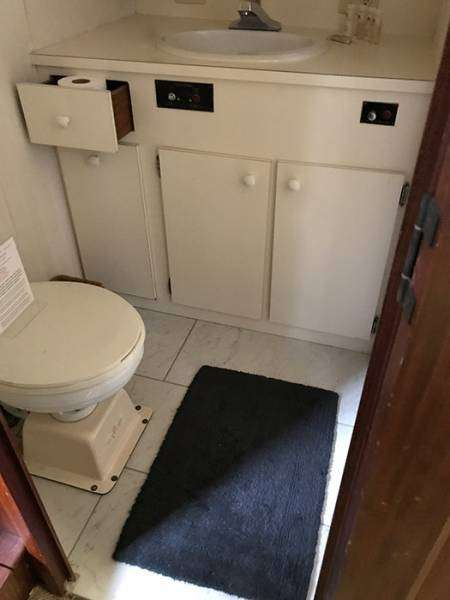 Captains Quarters Head And Shower