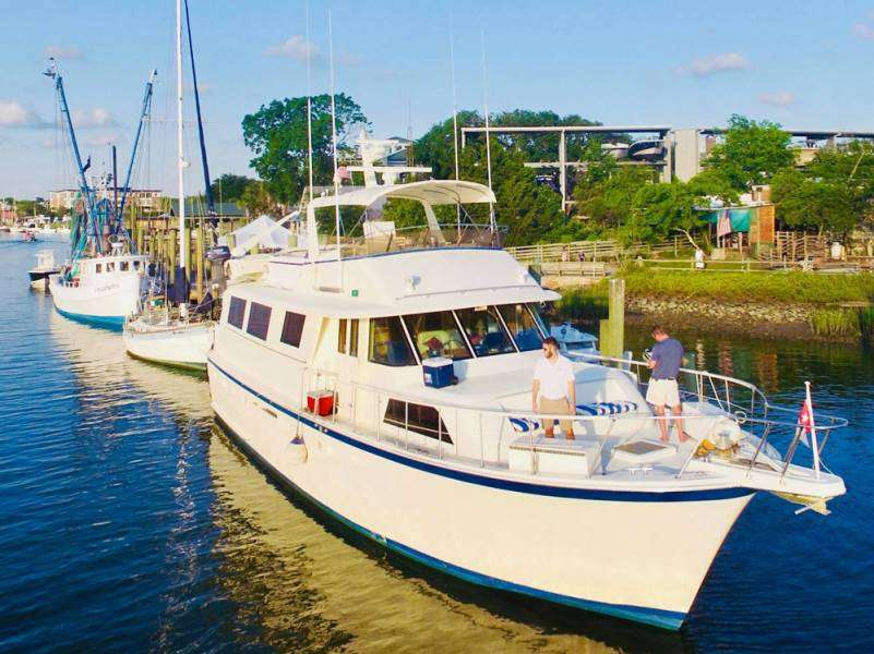 Southern Comfort Out On Shem Creek